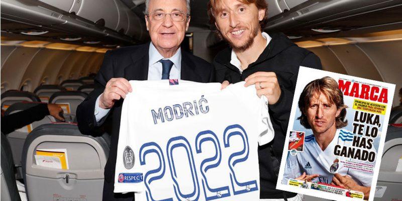 Real Madrid ký hợp đồng thành công tiền vệ Luka Modric