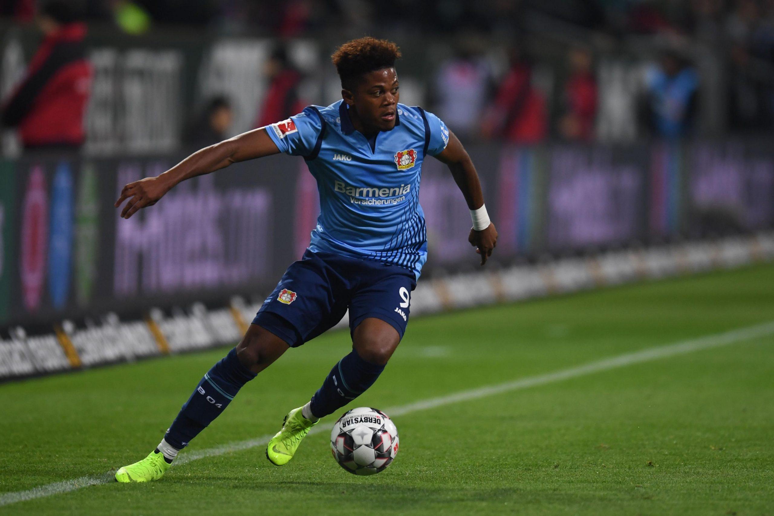 Leon Bailey của Leverkusen
