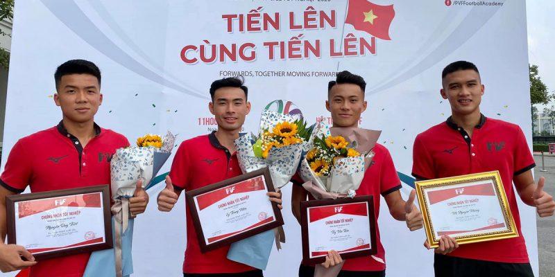 20 cầu thủ trẻ được PVF gửi đến 5 CLB V-League và Giải Hạng Nhất