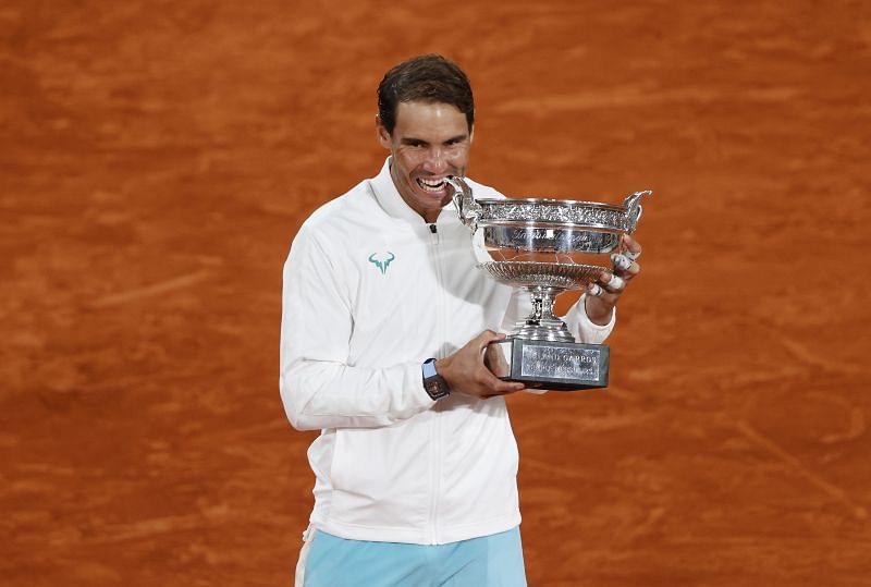 tay vợt Rafael Nadal