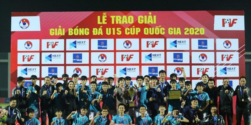 U15 PVF xứng đáng đăng quang ở giải U15 Cúp Quốc gia
