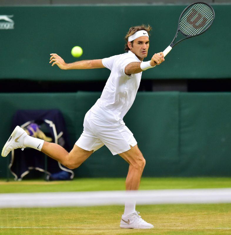 Tay vợt tài năng nhiều tiền Roger Federer