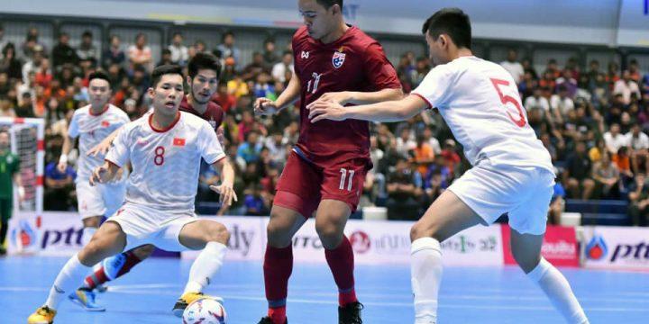 ĐT Việt Nam kết thúc giải giao hữu Futsal PTT Thailand Five 2019