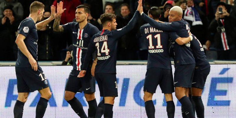 Dù thắng lớn những PSG vẫn chỉ đứng thứ 3 Ligue 1