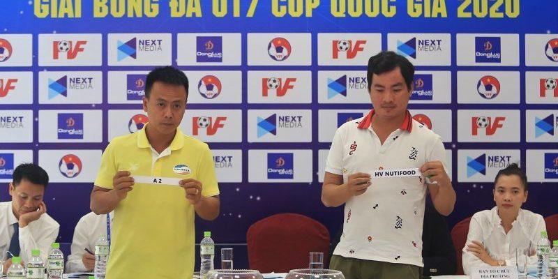 Giải U17 Cúp Quốc Gia lần đầu tiên được tổ chức 12 đội bóng tham gia tranh tài