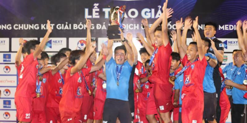 Vô địch mùa giải U15 Quốc gia – U15 PVF