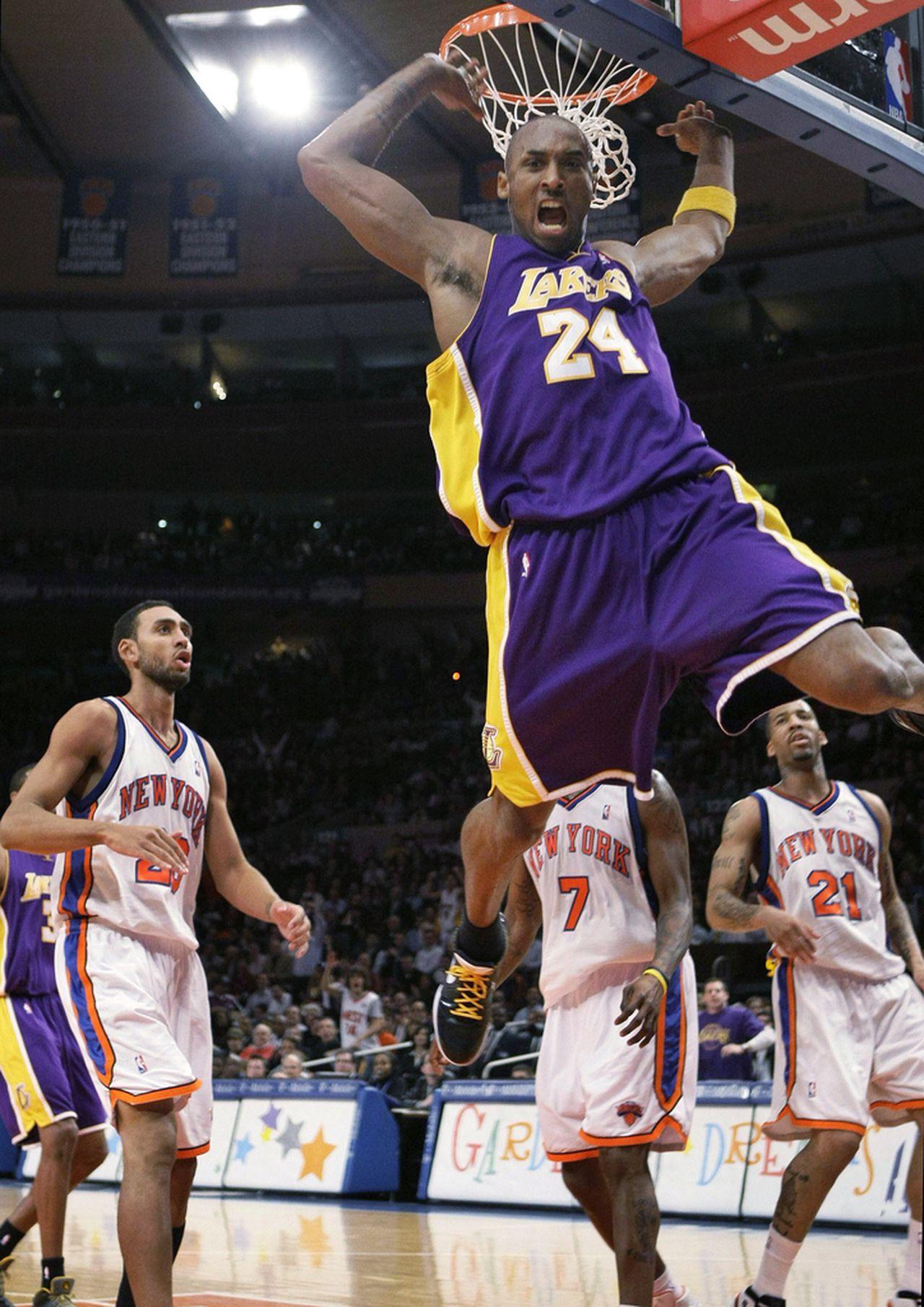 Kobe Bryant – Hành trình hiện thực hóa ước mơ thành huyền thoại bóng rổ