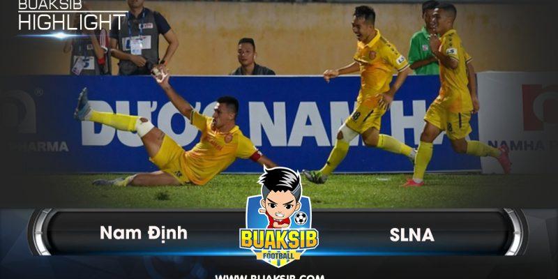 SLNA – Nam Định: Chiến đấu đến cùng, vỡ òa trụ hạng