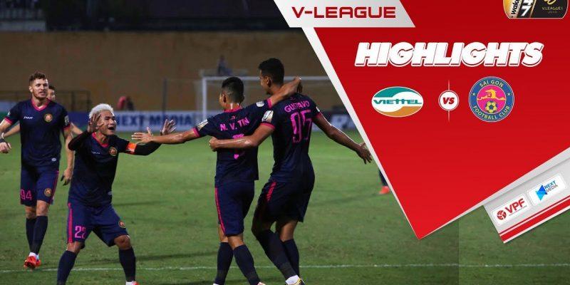 Thắng Sài Gòn với tỉ số tối thiểu Viettel vô địch V.League 2020