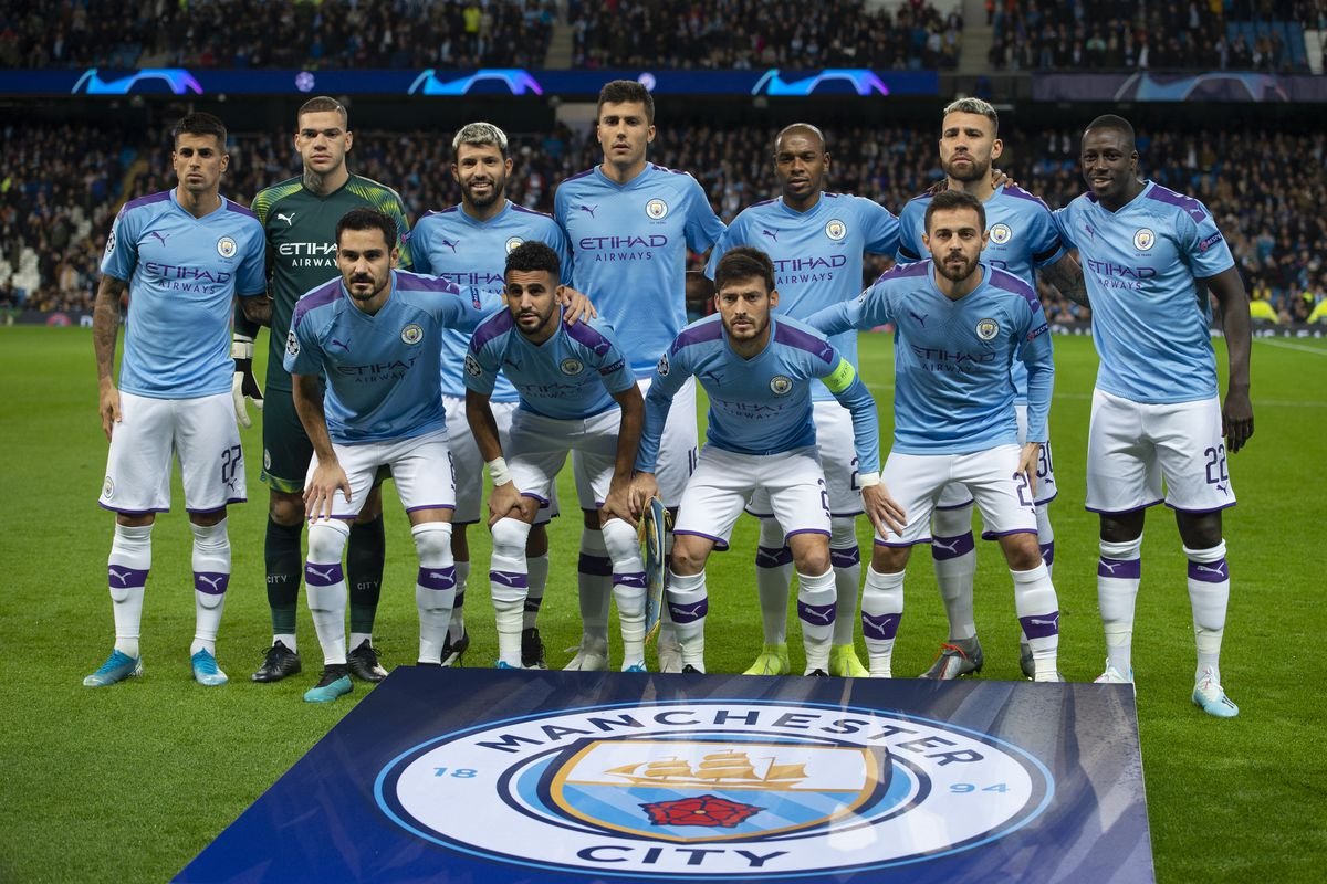 đội bóng mạnh nhất Manchester City