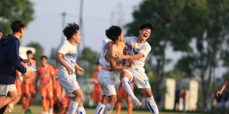 U17 HAGL và U17 Hà Nội giành tấm vé vào vòng bán kết U17 Cúp Quốc Gia 2020.